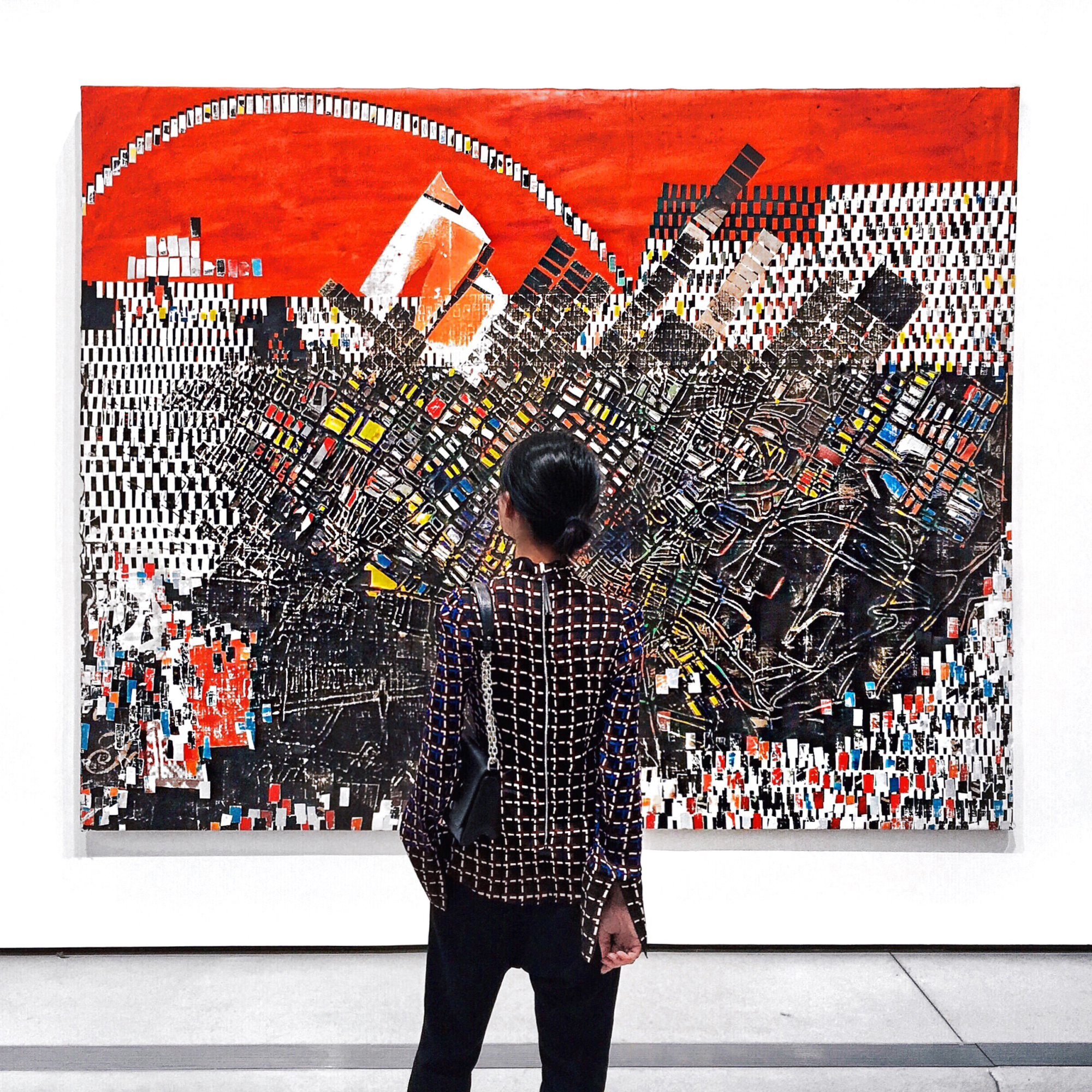 Mark Bradford at the BROAD by Margaret Zhang